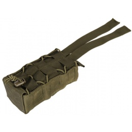 Lancer Tactical Radio/Canteen Retention Pouch - OLIVE DRAB