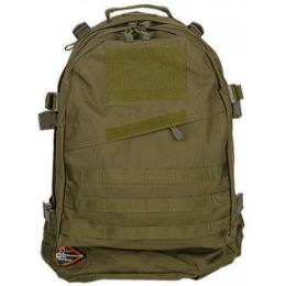 Lancer Tactical 3-Day Outdoor Assault Backpack - OD GREEN