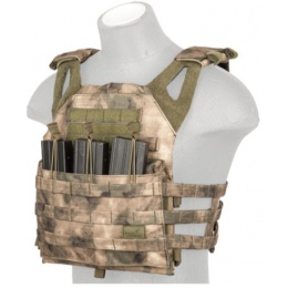 Lancer Tactical Airsoft Vented Jumpable Plate Carrier - AT-FG