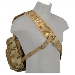 Lancer Tactical Airsoft 600D Nylon Messenger Bag - CAMO