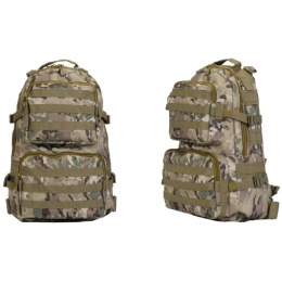 Lancer Tactical Multi-Purpose Operator Backpack - MULTI-CAMO