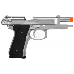 HFC GBB M9 Beretta Gas Blowback Airsoft Pistol - SILVER