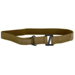 Lancer Tactical MIL-Spec Webbing Riggers Belt - X Large - TAN