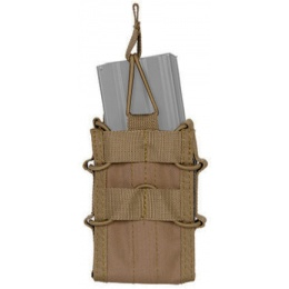 Lancer Tactical M4/M16 Single Nylon Magazine Pouch - TAN