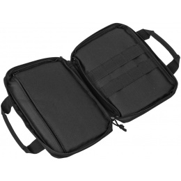 Lancer Tactical Portfolio Holster Polyester Bag - SMALL - BLACK