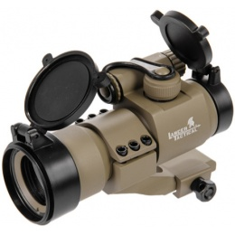 Lancer Tactical Metal Airsoft Red/Green Dot Sight - DARK EARTH