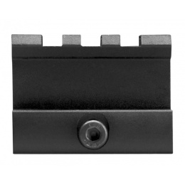 AIM Sports AR-15 High Profile Aluminum Riser Mount - BLACK