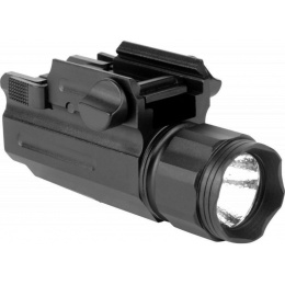 AIM Sports 330 Lumens Tactical Flashlight w/ Quick Release Mount