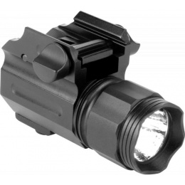 AIM Sports 330 Lumens Sub Compact Flashlight w/ Quick Release Mount