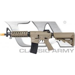 Classic Army Armalite M15A4 CQB Metal Airsoft AEG Rifle - DARK EARTH