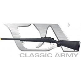 Classic Army M24 LTR Airsoft Bolt Action Sniper Rifle - BLACK