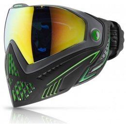 Dye i5 Pro Airsoft Storm Goggles & Full Face Mask - EMERALD