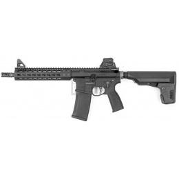 KWA PTS Mega Arms MKM AR-15 GBBR Metal Rifle w/ Keymod Rail - BLACK