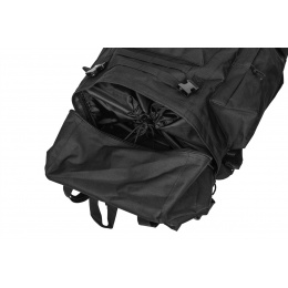Lancer Tactical Waterproof Outdoor Trail Backpack - BLACK