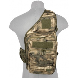 Lancer Tactical Airsoft Messenger Utility Shoulder Bag - AT-FG