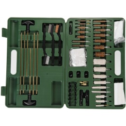Lancer Tactical Universal Gun Cleaning Kit w/ Carrying Box - GREEN