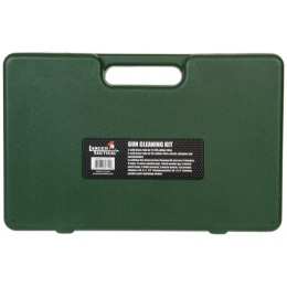 Lancer Tactical Universal Gun Cleaning Kit w/ Carrying Box - GREEN