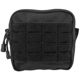 Lancer Tactical Enclosed Laser Cut M4 EMT Utility Pouch - BLACK