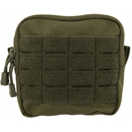 Lancer Tactical Enclosed Laser Cut M4 EMT Utility Pouch - OLIVE DRAB
