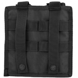 Lancer Tactical 1000D Nylon Double MOLLE Magainze Pouch - BLACK