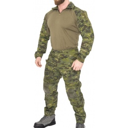 Lancer Tactical Airsoft Gen 3 Combat Shirt / Pants BDU - CAMO TROPIC