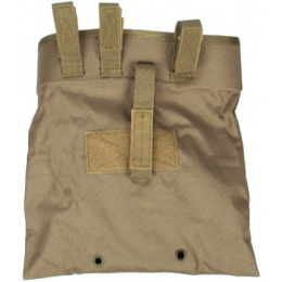 Lancer Tactical Airsoft Large Folding Dump Pouch - COYOTE BROWN
