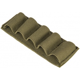 Lancer Tactical Airsoft Elastic Shotgun Shell Holder - OD