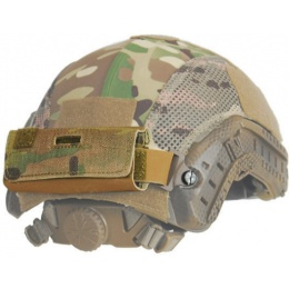 Lancer Tactical Airsoft Helmet Counterweight Pouch - CAMO