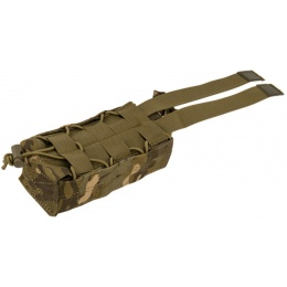 Lancer Tactical Airsoft Retention Radio Pouch - CAMO TROPIC