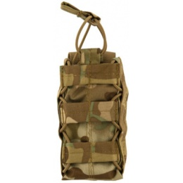 Lancer Tactical Airsoft Retention Taco Radio Pouch - CAMO