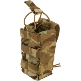 Lancer Tactical Airsoft Retention Radio Pouch - CAMO