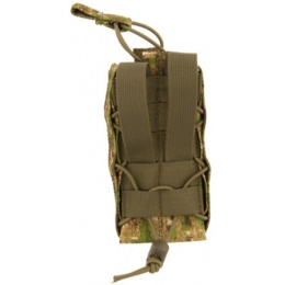 Lancer Tactical Airsoft Retention Radio Pouch - PC GREEN