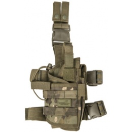 Lancer Tactical Airsoft Tornado Drop Leg Holster [Nylon] - CAMO TROPIC
