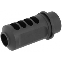 Lancer Tactical Airsoft Metal Sniper Rifle Flash Hider - BLACK