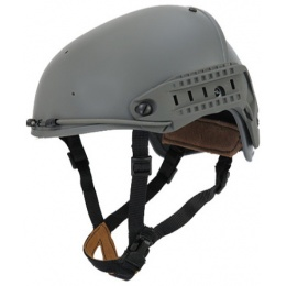 Lancer Tactical Airsoft CP AF Helmet w/ Side Rails - L/XL -  FOLIAGE