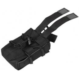 Lancer Tactical Airsoft Single M4/M16 Magazine Pouch - BLACK