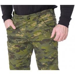 Lancer Tactical Ripstop Outdoor Combat Work Pants - CAMO TROPIC