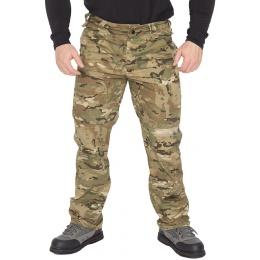 Lancer Tactical Ripstop Outdoor Combat Work Pants - MODERN CAMO