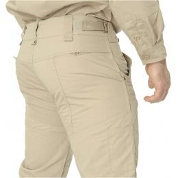 Lancer Tactical Ripstop Outdoor Combat Work Pants - LIGHT KHAKI