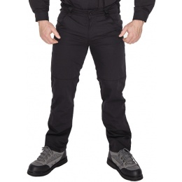 Lancer Tactical Ripstop Outdoor Combat Work Pants - BLACK