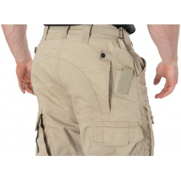 Lancer Tactical All-Weather Reinforced Recreational Pants - KHAKI