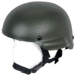 Lancer Tactical Airsoft Tactical MICH 2002 Basic Combat Helmet - OD