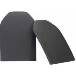 UK Arms EVA Foam Dummy Plates Set of 2 - MED/LARGE -BLACK