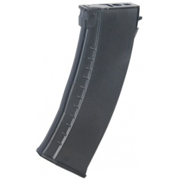 Lancer Tactical AK74 HI-Cap 600rd Airsoft AEG Magazine - BLACK