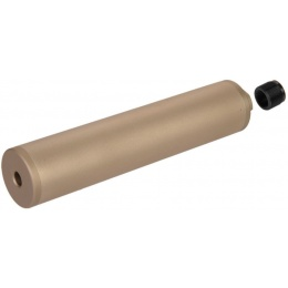 UK Arms Octane-I F38X190.5mm Mock Suppressor - DARK EARTH