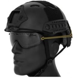UK Arms Regulator Goggle Bungee Cord/ Hook & Loop Strap kit