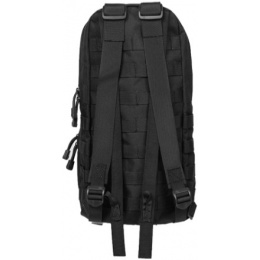 Lancer Tactical Airsoft MOLLE Hydration Backpack - BLACK