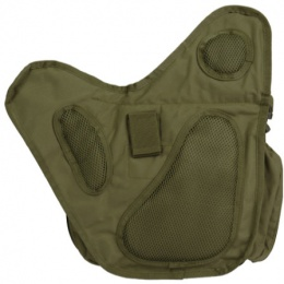 Lancer Tactical Airsoft Messenger Shoulder Bag - OD GREEN