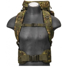 Lancer Tactical Airsoft MOLLE Rifle Backpack - PC GREEN
