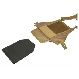 Lancer Tactical Airsoft Assault Plate Carrier - COYOTE BROWN